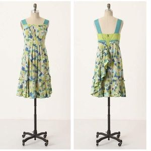 Anthropologie Girls From Savoy Fresh Current Dress